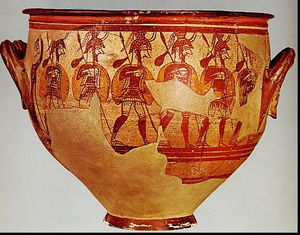 Warrior Vase Medium(Mycenae c 1200BCE)