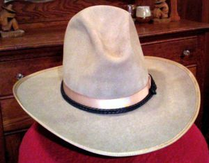 Stetson cowboy hat 1920s renovated[1]
