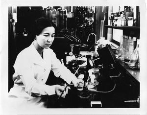 Dr. Ruby Hirose, who researched serums and antitoxins and w