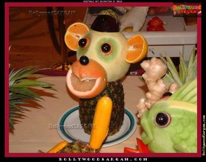 Vegetable Art Decoration Of India BollywoodSargam interview