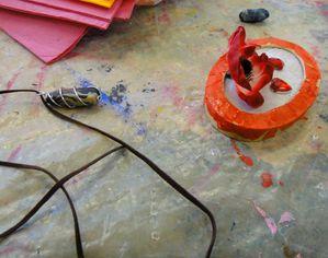 Atelier de Flo fête des mères bricolage bijoux 17