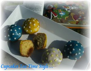 Cupcakes tea time style 2