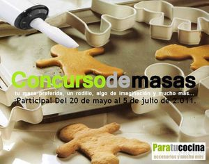 Logo maxi concurso de masas Driwrgy cocinitas paratucocina