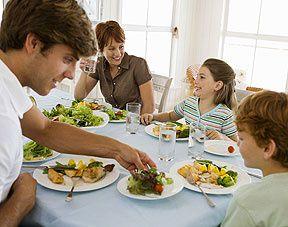 repas famille menu