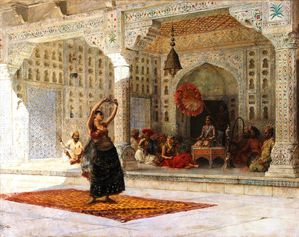Edwin Weeks the nautch