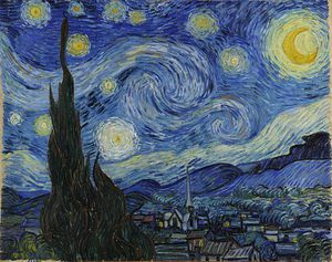 La nuit étoilée VAN GOGH