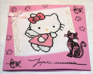 Hello Kitty par Isabelle