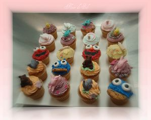 figurines cupcakes zoom