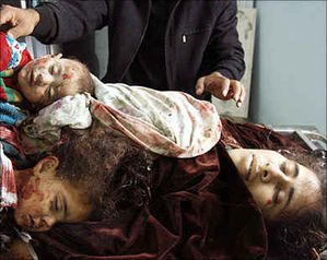 gaza mother dead children