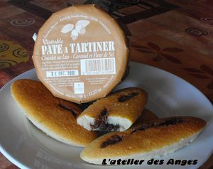 Financier pâte à tartiner 2