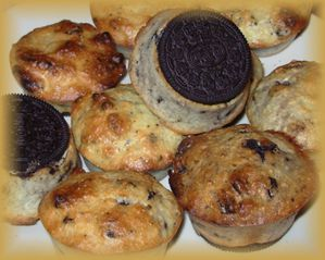 Muffins oreo, choco, coco4