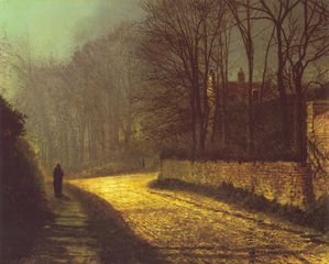 GRIMSHAW John Atkinson THE-LOVERS