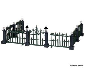 24534 classic victorian fence, set of 7