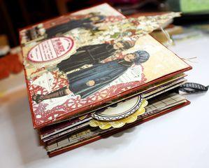 Gabistella Mini album Noel Vintage1 02 2010