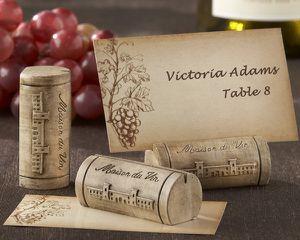 idées décoration pour mariage thème sur les vin
