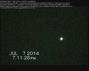 ufo flash 7,7,2014 Argentina I