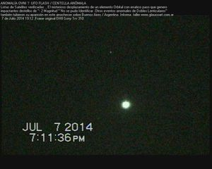 ufo flash 7,7,2014 Argentina II