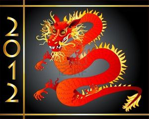 red-and-gold-chinese-dragon-symbol-of-year-2012-in-the-cale