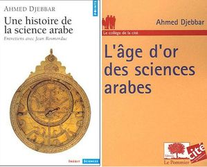 Ahmed Djebbar books front cover