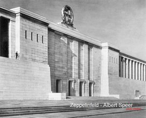 Zeppelinfeld by Albert Speer