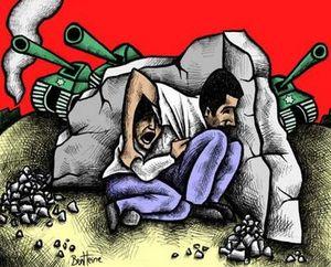 Mohammed Al Dura dessin Ben Heine