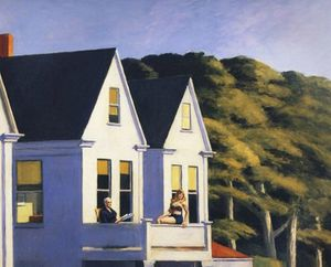 Hopper Second Story Sunlight 1960 redim