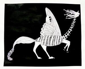 animal fantastique de Lucie
