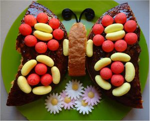 gateau papillon