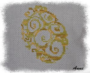 broderie tortue 1