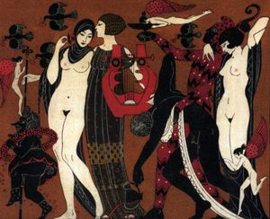 George Barbier (1882 – 1932, French) L'Athénienne 3