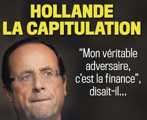 Hollande capitule