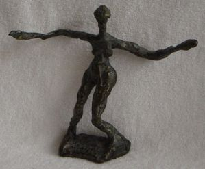 sculpture en bronze de Brigitte Valin 2