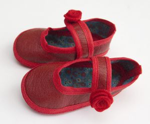 chausson babies rouge 1