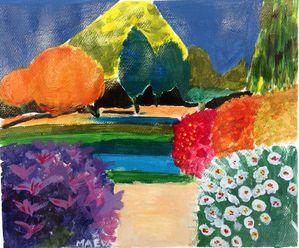paysage couleur Maëva