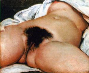 courbet originedumonde