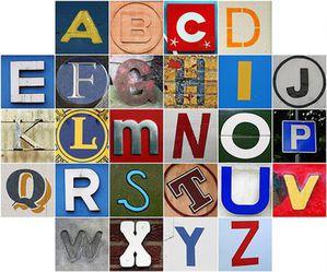 alphabet lettres tres petite