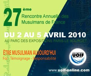 Rencontre musulman de france bourget 2016
