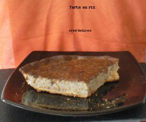 Tarte au riz