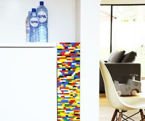 Portion de mur en legos
