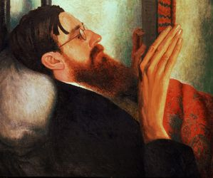 Dora Carrington - Lytton Strachey -