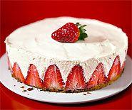 fraisier yogourt