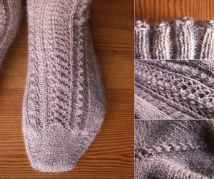 tuto tricot chaussette