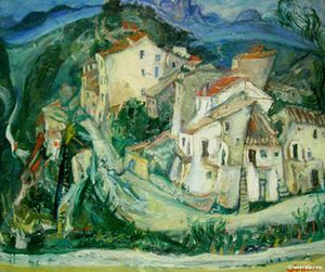 Chaim-Soutine-View-of-Cagnes-1924-large-1173582040