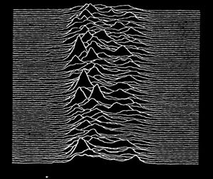 Pochette de l'album unknown pleasures