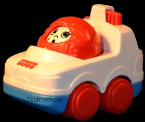 voiture fisher price vintage
