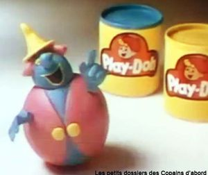 Bonhomme Play-Doh