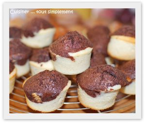 financier citron chocolat