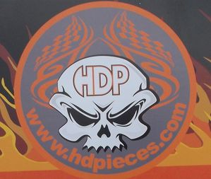 HDpieces.com logo PASSION-MOTO
