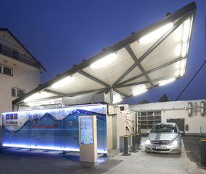 station service solaire hydrogène à Fribourg 2012