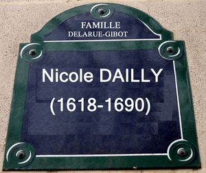 plaque 3957 dailly